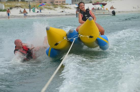 Banana Boat Rides in the Sunshine State