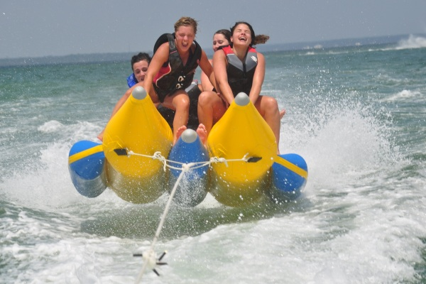 fun banana boat rides